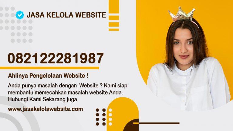jasa kelola website, jasa pengelolaan website